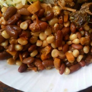 Githeri special – Githeri with beef stew